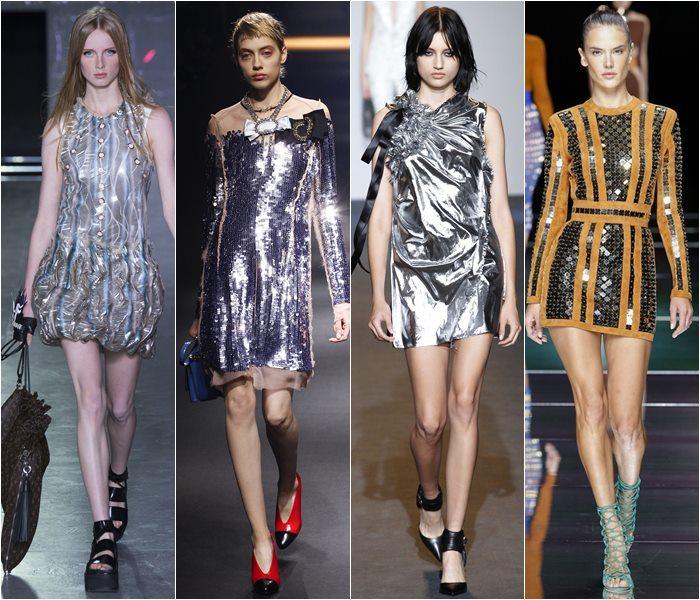 блестящие платья 1