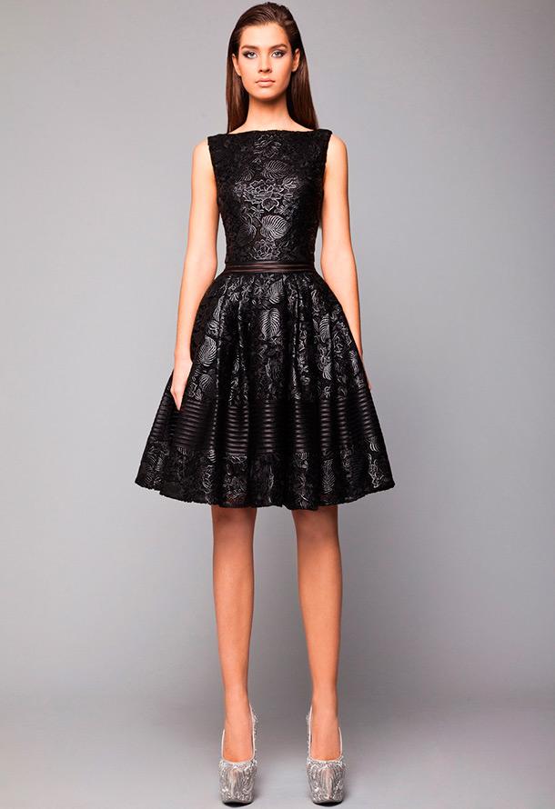 кожаные платья 2