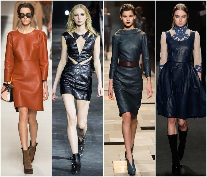 кожаные платья 3
