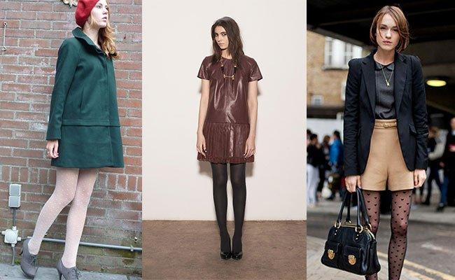 модные колготки (чулки) осень 2016 и зима 2017, с чем носить 3