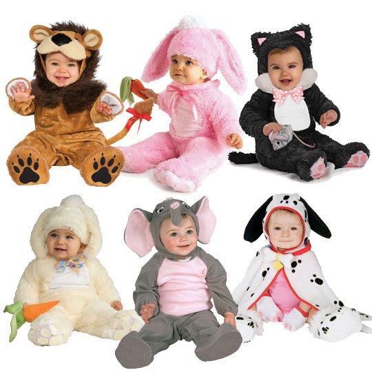 костюмы для самых маленьких на Новый год