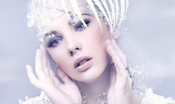 макияж в стиле Снежной королевы 1