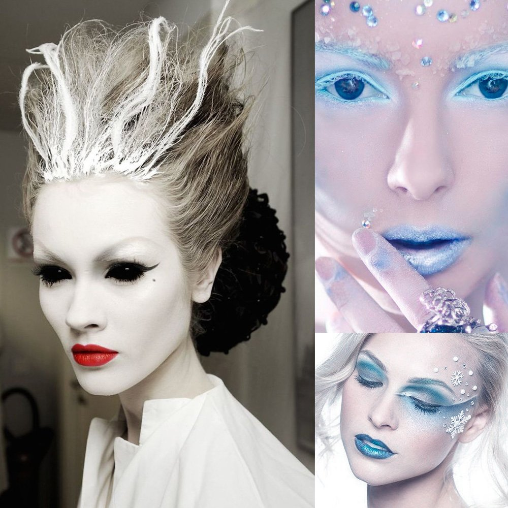 макияж в стиле Снежной королевы 2