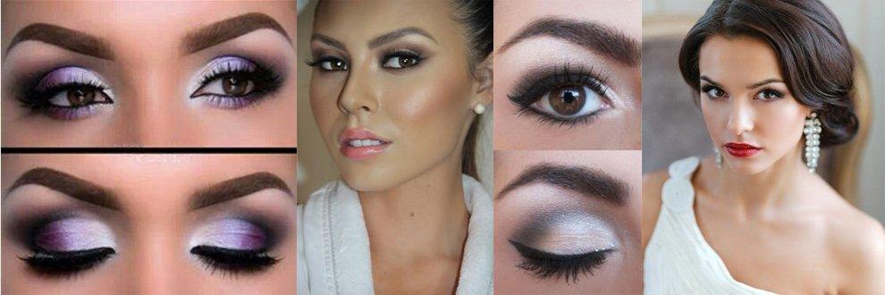 новогодний макияж для карих глаз, фото 3
