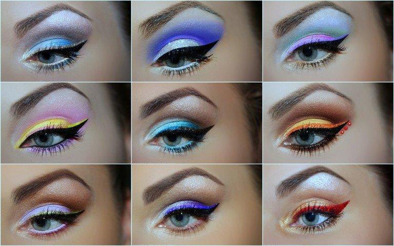 макияж для голубых глаз на Новый год, фото 2