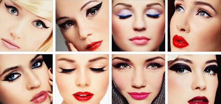 Новогодние макияжи играть