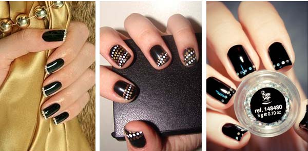 маникюр на короткие ногти 2017, техники на фото 6