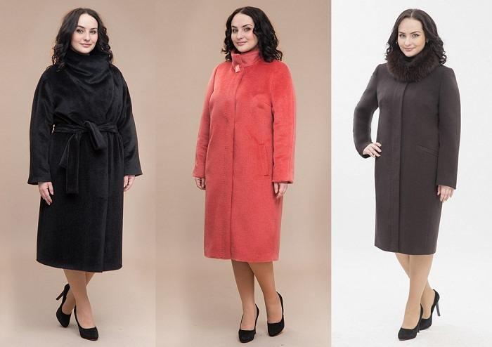модная верхняя одежда для полных женщин осень 2016 зима 2017, фото 1
