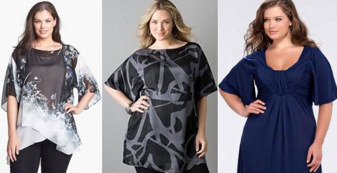 модные туники для полных женщин осень 2016 зима 2017, фото 1