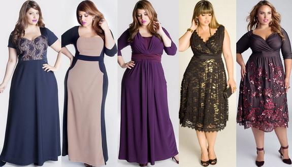 модные платья для полных женщин осень 2016 зима 2017, фото 2