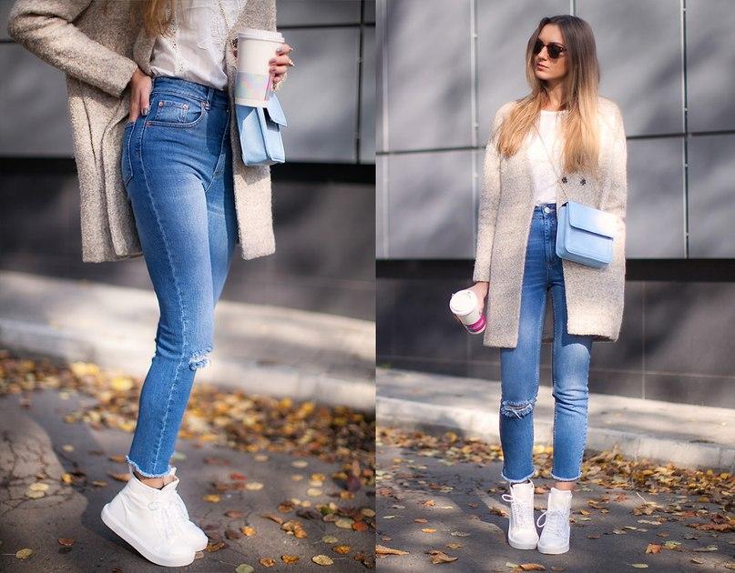 женские джинсы осень 2016 зима 2017, модные тенденции