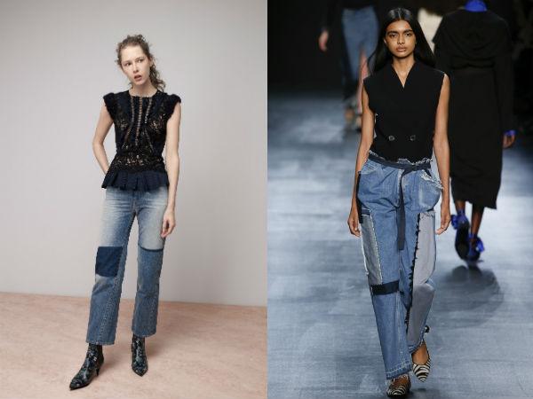 модные женские джинсы осень-зима 2016-2017, фото новинки 2