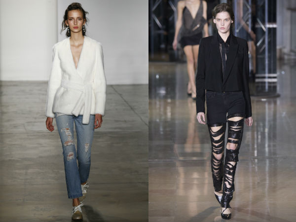 модные женские джинсы осень-зима 2016-2017, фото новинки 3