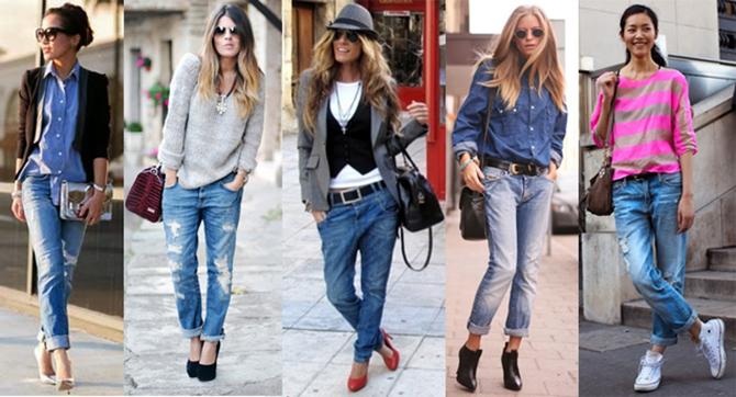 синие и черные джинсы - неизменная классика 1