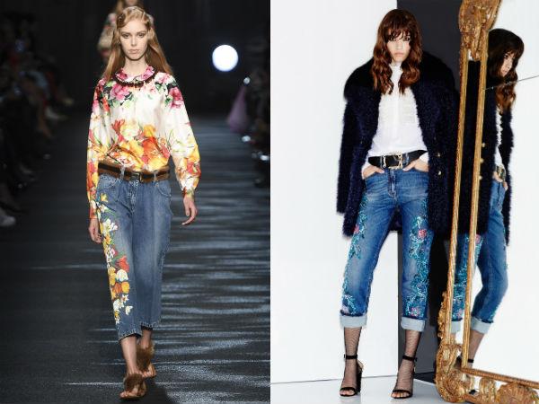 цветовая гамма женских джинсов сезона осень-зима 2016-2017
