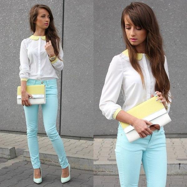 модные луки с брюками 1