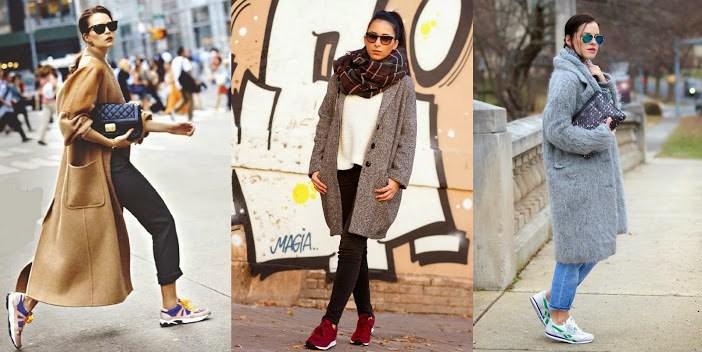модные луки с пальто 2