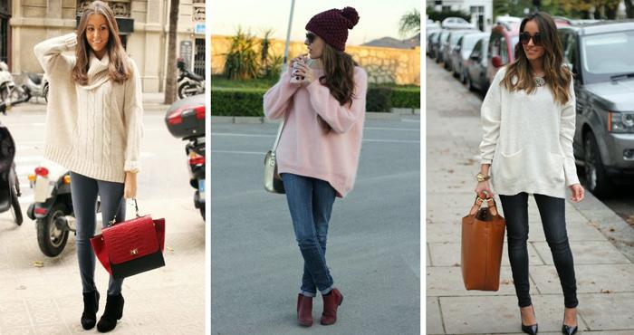 Смотреть Стильные свитера и кардиганы оверсайз холодной осенью видео