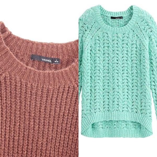 вязаные свитера и джемперы осень 2016 зима 2017, фото 3