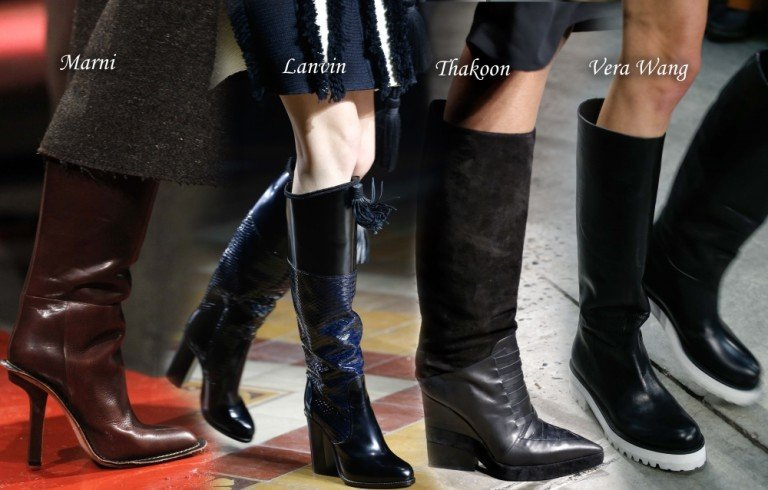 теплая и модная обувь для встречи Нового года на улице 2