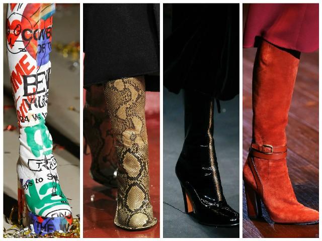 модная обувь осень-зима 2016-2017, фото 4