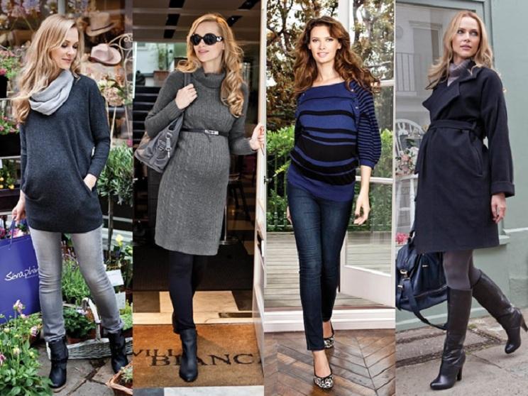 базовый гардероб для беременных осень-зима 2016-2017 4