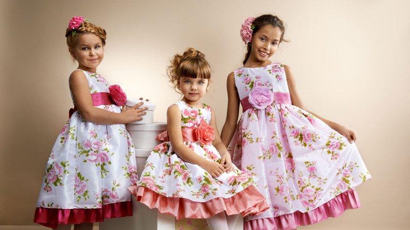 394eed49eb2bb80 Мода и модные тенденции в 2019 году | Платья для девочек на Новый ...