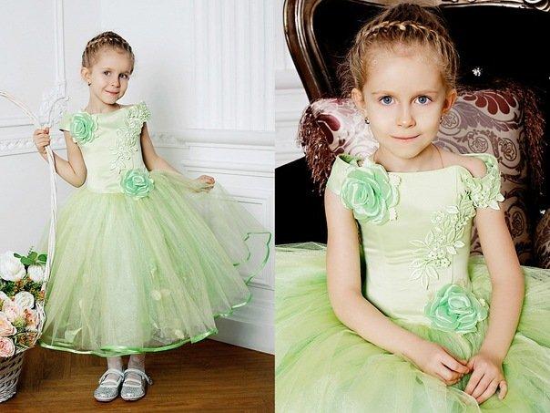 детские новогодние платья для девочек 1