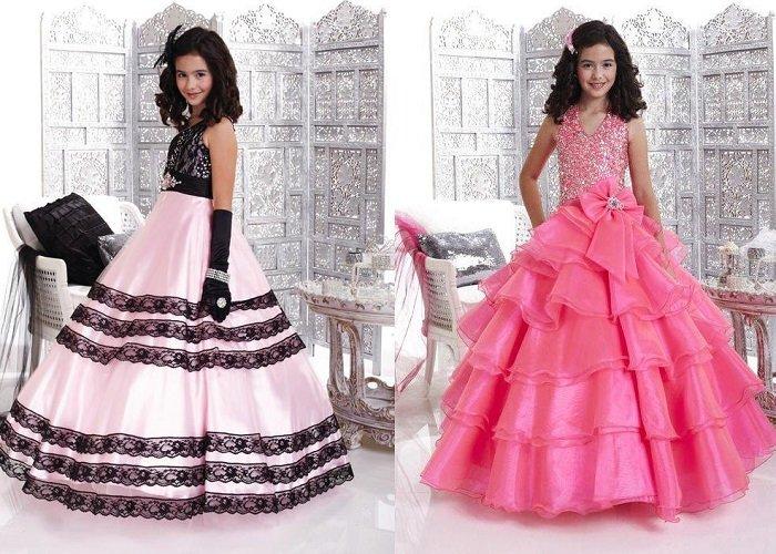 детские новогодние платья для девочек 2