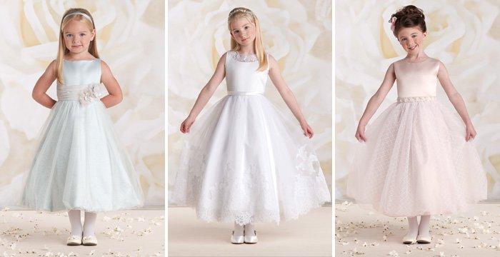 фасоны детских платьев на Новый год