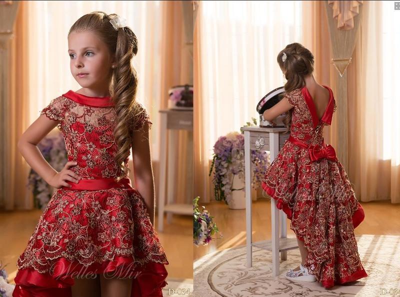 детские платья для девочек на Новый год, фото 2