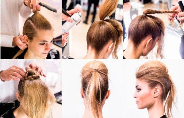 как сделать прическу на длинные волосы на Новый год 2