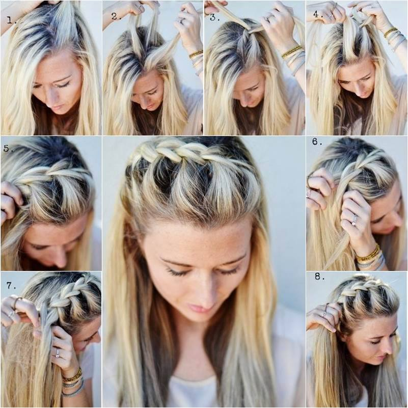 косы и плетения 1