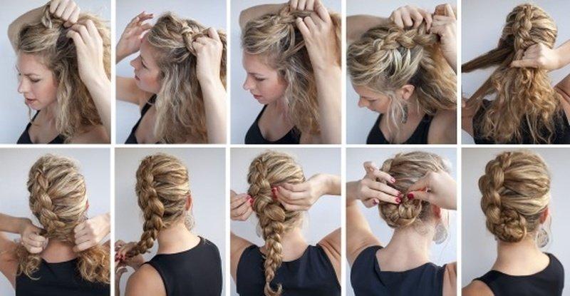 косы и плетения 2