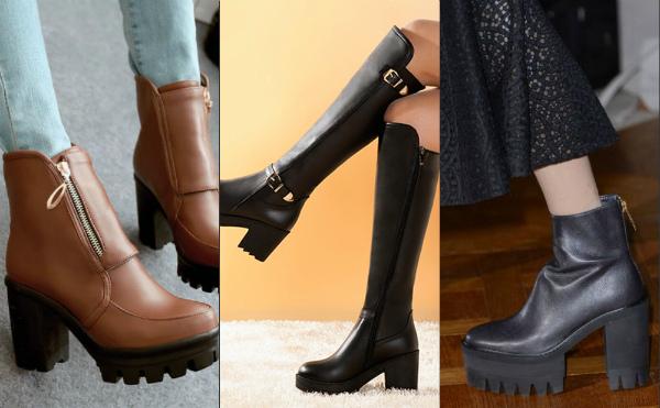 Модная зимняя обувь 2017