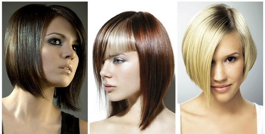 Прически на волосы средней длины