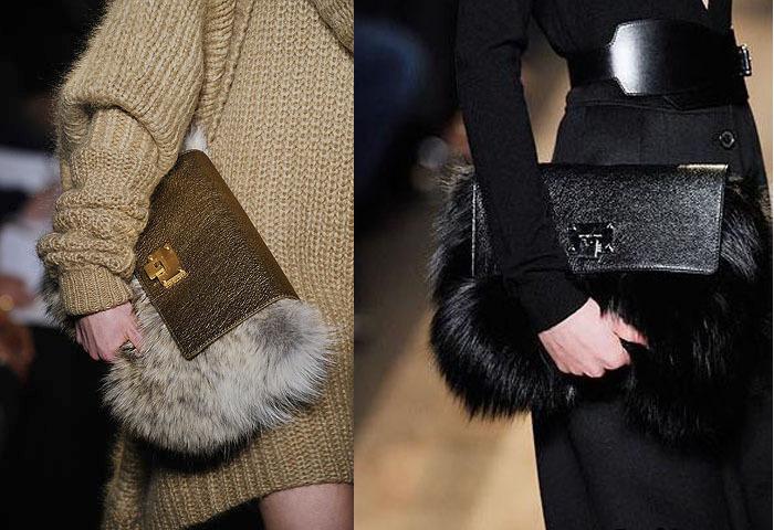меховые сумки на зиму 2016 2