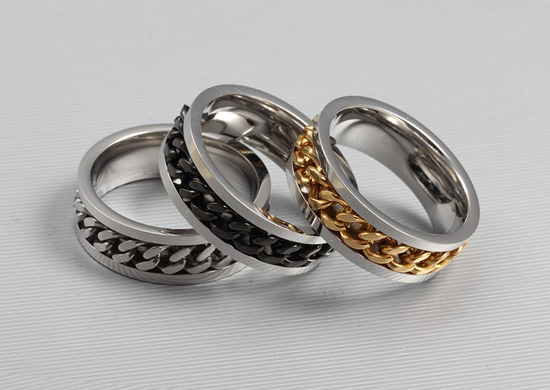 кольца без камней 2