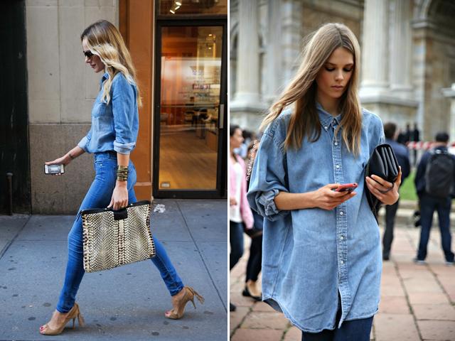 джинсовая одежда 2