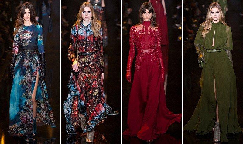 фото модных вечерних платьев 1
