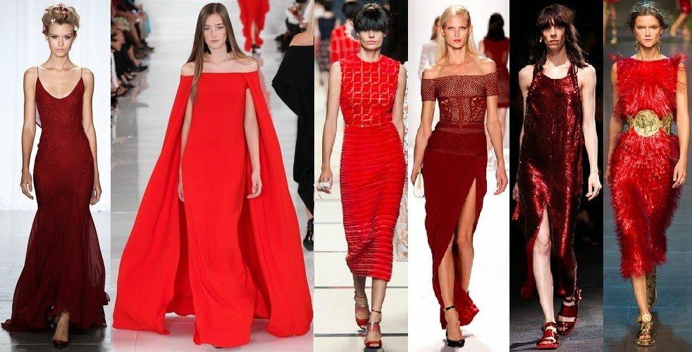 красные платья фото 2