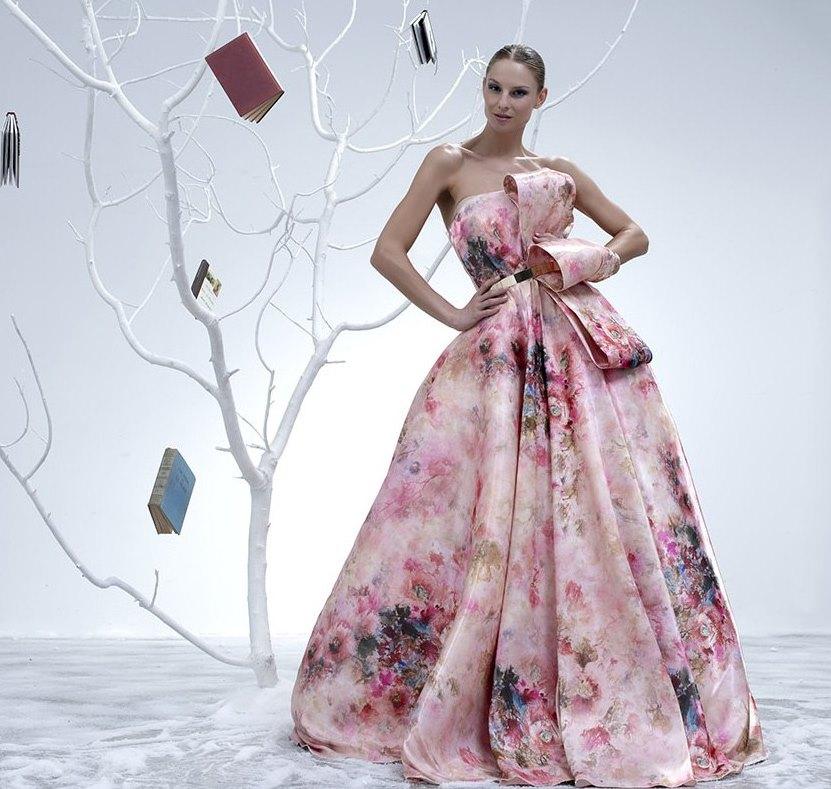 пышные вечерние платья 1