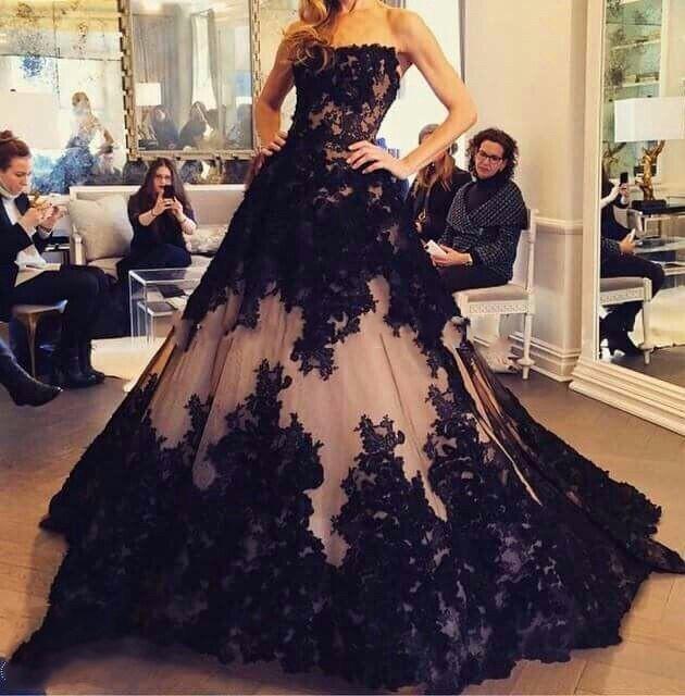 пышные вечерние платья 3