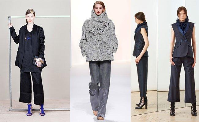 Женские брюки осень-зима 2016-2017