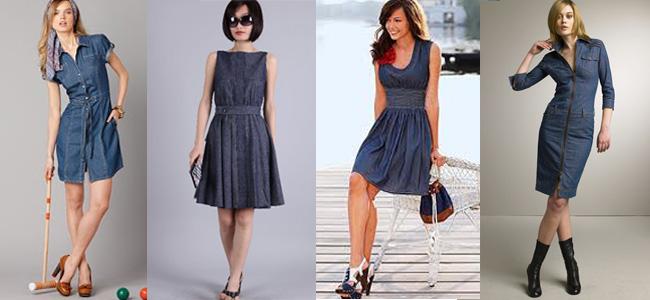 джинсовые платья 2