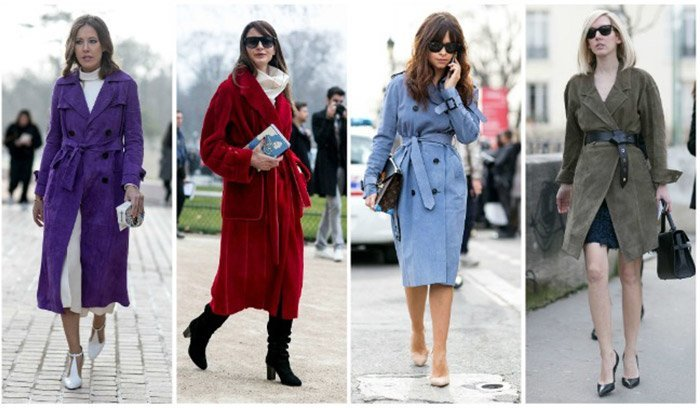 луки с пальто 1