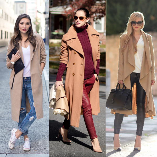 луки с пальто 2