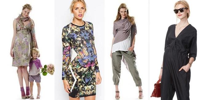 мода для беременных весна-лето, одежда на фото 3