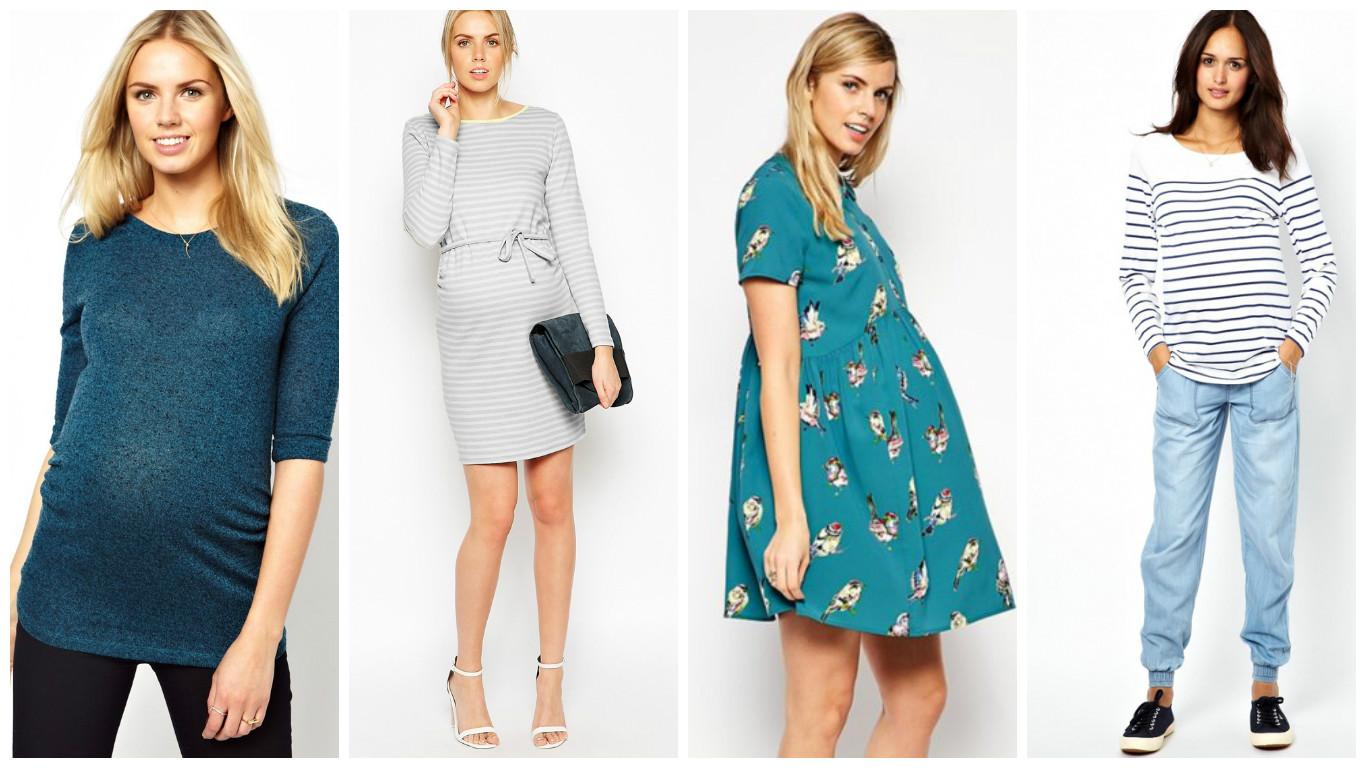 мода для беременных весна-лето, одежда на фото 4