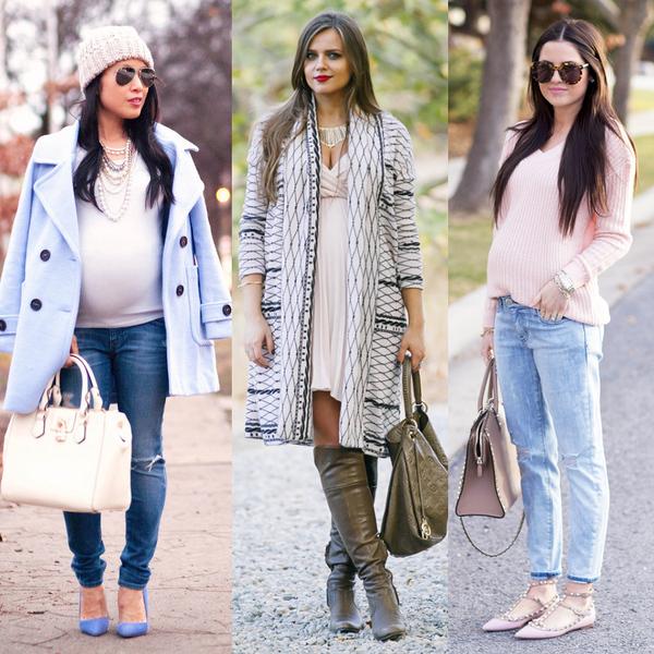 мода для беременных весна-лето, одежда на фото 5